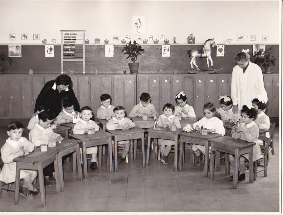 Calderara, anni '50